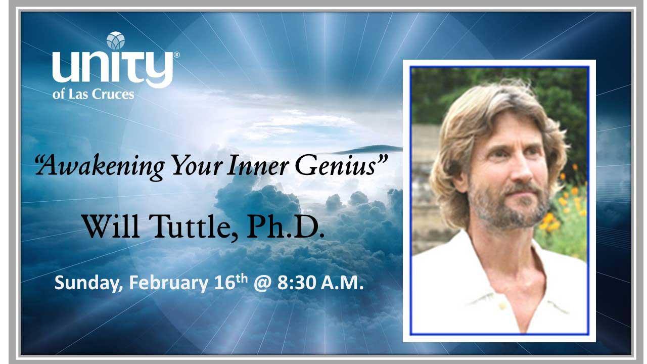 Will Tuttle PHD February 16th Awaken Your Inner Genius