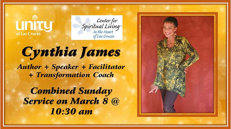 Cynthia James March 8th